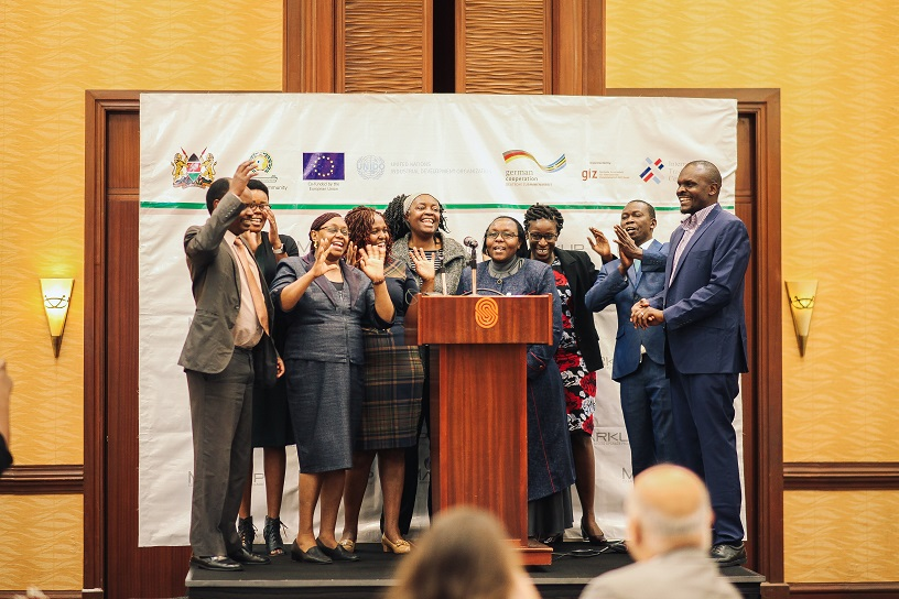 Group relaxed Kenya Unido Launch